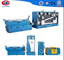 Intermediate wire drawing machine with annaler