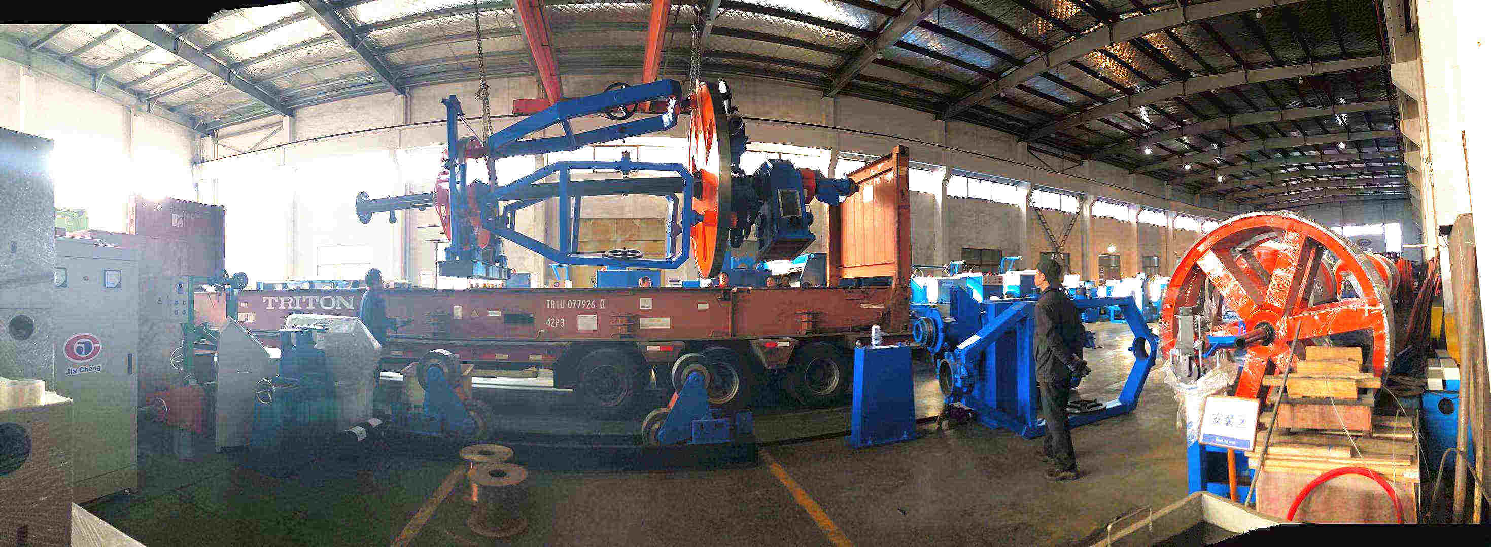 cable laying up machine_副本